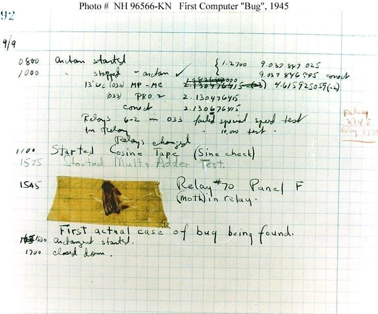 First Bug Report - Tester's Day