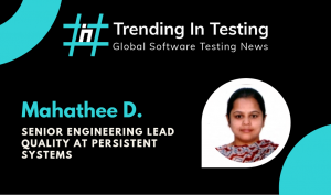 Global Testing Series - Interview with Mahathee D Testing